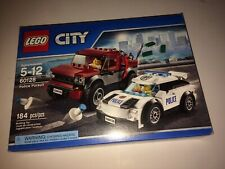 LEGO City Police Pursuit 60128 New in Sealed Box Retired Police Car Pickup Truck