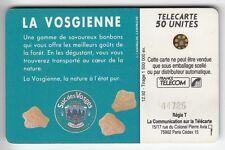 VARIETE TELECARTE FRANCE .. 50U F315 VOSGES RECTIFIE TGE44725/IMP. UT/BE C.140€