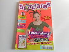LES P'TITES SORCIERES N° 96 AVRIL 2008 - SOIREE PYJAMA