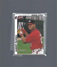 Albert Pujols - 2000 Midwest League Prospects Baseball Card Set