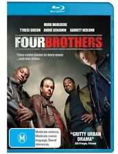 FOUR BROTHERS - Mark Wahlberg (Blu-ray, 2008, Free Postage)