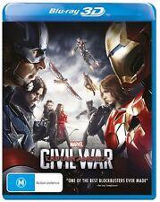 Captain America - Civil War : NEW 3D Blu-Ray
