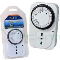 Programmatore timer analogico accensione elettrodomestici lampade luci TI-2