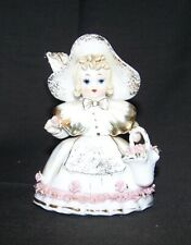 """Vintage Lefton China """" Going to Market"""" Hand Painted Figurine"""