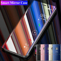 360 Flip Clear View Mirror Case Cover For Huawei Mate 20 Pro/Lite/Y9 PSmart 2019