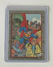 SKYBOX 1993 THE RETURN OF SUPERMAN EARTH'S GREATEST HERO SILVER FOIL CARD #SP1