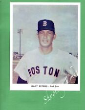 Vintage Baseball 9x7 Color Photo of Gary Peters From the Boston Red Sox
