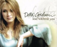 Delta Goodrem Lost Without You CD Single Rare 2003 In My Own Time Innocent Eyes