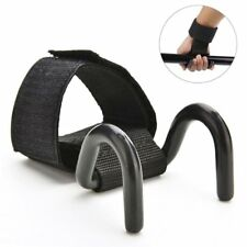 Weight Lifting Training Gym Hook Grips Straps Gloves Wrist Support Lift