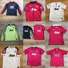 MANCHESTER UNITED Football Shirts - Multiple Seasons - Multiple Sizes