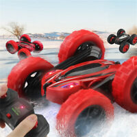 D828 Kids 360° Rotate Stunt Car Model 4WD High Speed Remote Control Off-road Toy