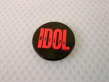 Vintage Billy Idol Pin Button Estate