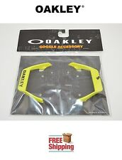 "OAKLEY® AIRBRAKE™ MX GOGGLE REPLACEMENT OUTRIGGER STRAP MOUNTS (PAIR) ""GREEN"""