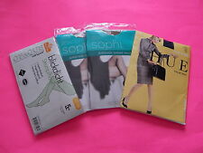 Lot of (4) Pantyhose Miss Astor Hue Sophi Queen Size 3 42-44