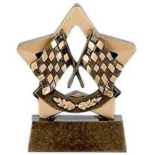 """Mini Star Racing Flags  Motorsport Trophy Award"""