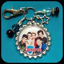 Personalized 1D ONE DIRECTION Bottle Cap  Name Necklace, Jewelry, Zipper Pull