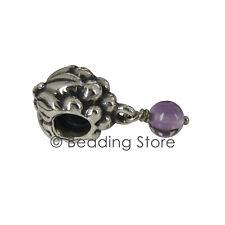 NEW Pandora Silver ALE Amethyst Grapes Grape Bunch Purple Charm Pendant 790481AM
