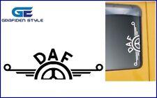 2 Stück DAF LKW Seitenfenster Aufkleber - Sticker - Decal !!<>!!