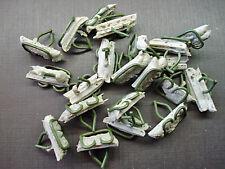 """20 pc Ford 9/16"""" x 11/16"""" fender door body belt side moulding trim clips sealer"""