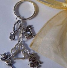 VET VETERINARY SURGEON STUDENT NURSE ASSISTANT KEYRING BAG CHARM GRADUATE GIFT