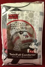 """New! Disney's Mickey Mouse Classic Twin Full Comforter 72"""" x 86"""""""