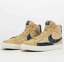 Nike SB Zoom Premium Blazer Mid Sashiko Sesame CT0715-200 Unisex Shoes Sneakers