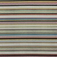 Drapery Upholstery Fabric Woven Jacquard Stripe - Grand Multi