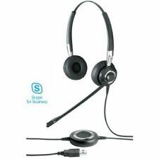 Jabra BIZ 2400 II Duo NC Std On-Ear Headset with Jabra Link 280 & Case