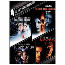 4 Film Favorites: Morgan Freeman DVD - Usually ships in 12 hours!!!