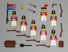LEGO Minifigures 7 Imperial Soldiers Guys Swords Lego Armada Minifig Lot Toys