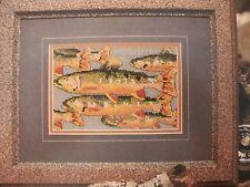 Rainbow Trout Fish OOP Magazine Cross Stitch PATTERN (S)