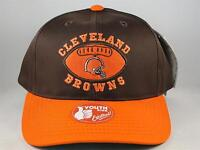 Kids Youth Size NFL Cleveland Browns Vintage Snapback Hat Cap