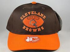 Kids Youth Size NFL Cleveland Browns Vintage Snapback Hat Cap