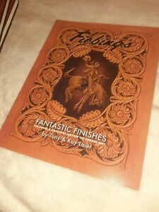 Fantastic Finishes Leather Dyeing and Coloring Book By Tony Laier 66071-00