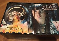 SALE: Xena Warrior Princess - Complete Season Five (11 VHS Set)