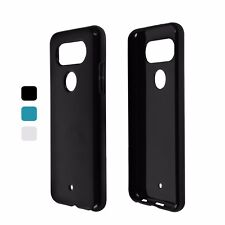 Case For LG Q8 (Transparent) Case Cover Tpu-T - Many Colours