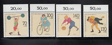 Germany 1991 Sports Sc B701-B704 complete mint never hinged