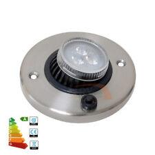 12V LED Directional Eyeball Cabinet Reading Light Caravan Boat Warm White Lamp