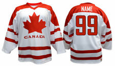 Team Canada WHITE Ice Hockey Jersey Custom Name and Number