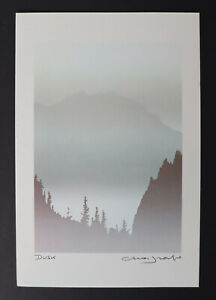 "Peter and Traudi Markgraf ""Dusk"" Art Card Print"