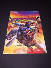 sunset riders snes manual