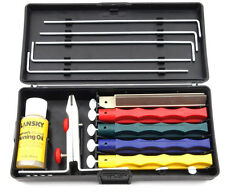 LANSKY 5 Stone Professional Sharpening System With Honing Oil & Case LKCPR NEW