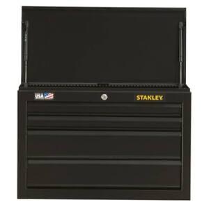 Stanley STST22643BK 26-Inch 100-series 4-Drawer Storage  Tool Chest - Black