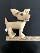 "Taco Bell Chihuahua 6"" Plush Talking Yo Quiero Advertising Applause"