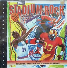 MORE STADIUM ROCK by Various Artists (CD) - NEW! AWESOME! Take a L@@K!