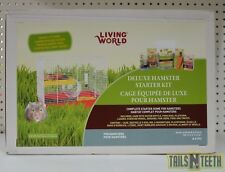 Living World Deluxe Hamster Starter Kit - Complete Starter Home for Hamsters