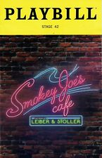Playbill - Smokey Joe's Cafe - July 2018