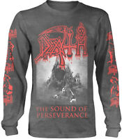 DEATH The Sound Of Perseverance VINTAGE LONG SLEEVE T-SHIRT OFFICIAL MERCH