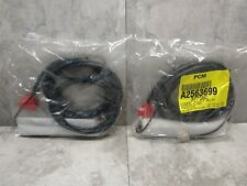 2 LOT - Verifone Mx830/850/860 Mx915 Series Tailgate Red 2m Cable 23739-02-R