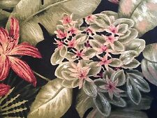 Kingsway Upholstery Fabric Montego Bay Indoor Outdoor Tropical Roseguard Finish